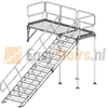 Containertrap Staal2.3 - 125 cm