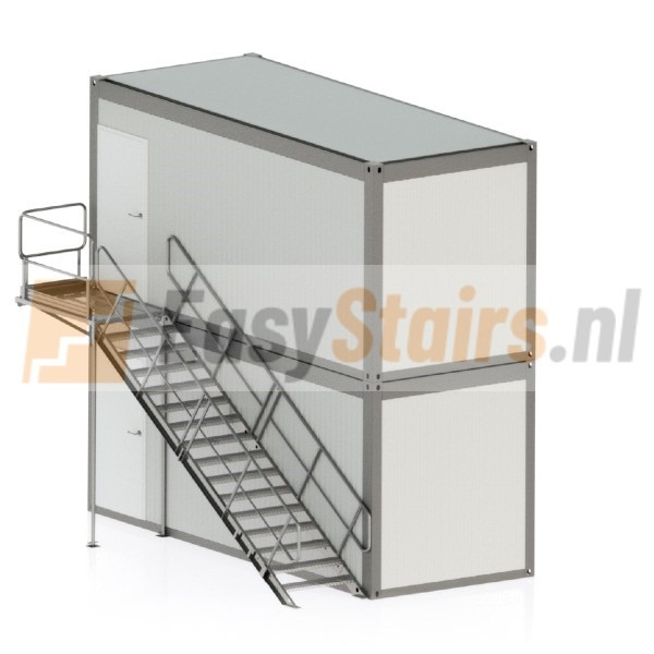 Staal2.4 Containerhoogte 296 cm